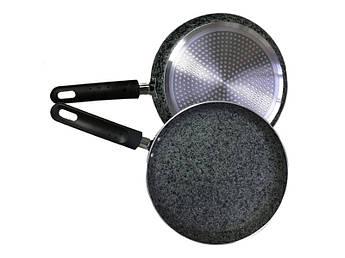 Сковорода млинна з гранітним покриттям Maestro 220мм