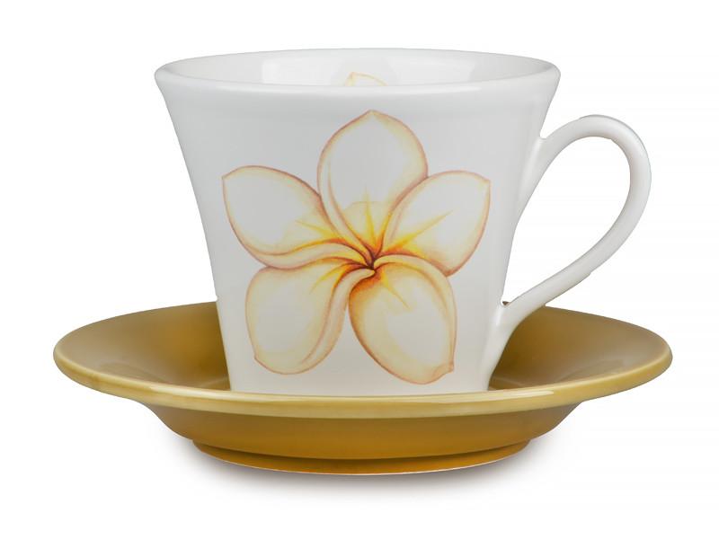 Чайная пара Nuova CER Frangipane 350мл 2пр