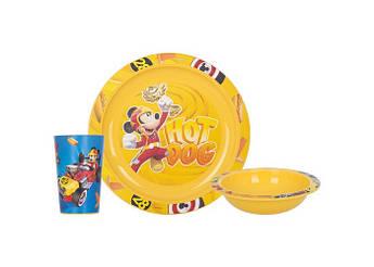 Набір дитячого посуду HEREVIN DISNEY MICKEY 3пр