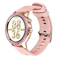 Умные часы (Smart Watch) Gelius Pro GP-SW005 (NEW GENERATION) с функцией пульсоксиметра, Pink Gold