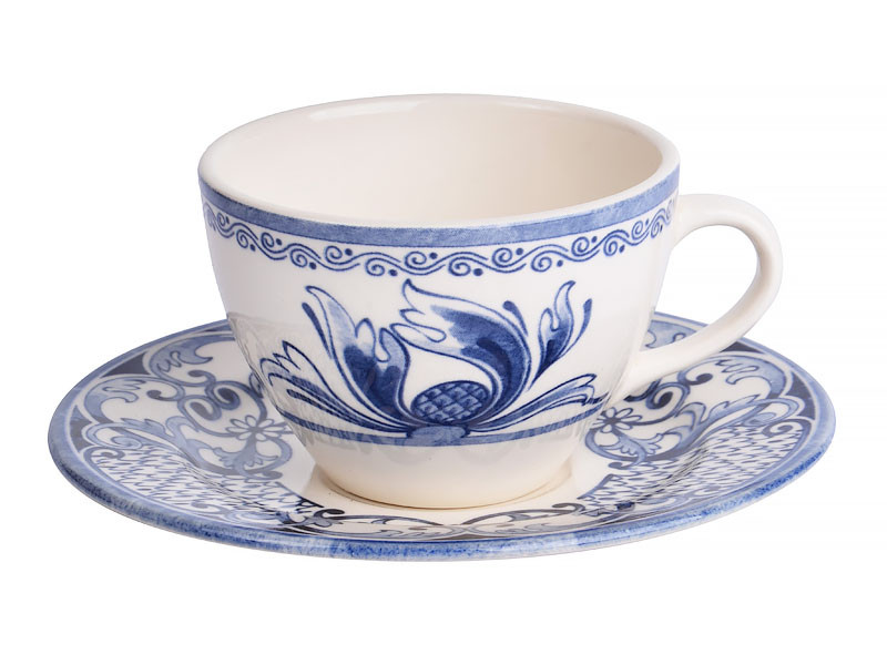 Чашка с блюдцем Claytan Тиара 240мл 2пр
