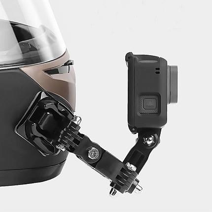 Бічне кріплення на шолом Side Mount для екшн камери GoPro SJCAM Xiaomi Yi, Sony, фото 2