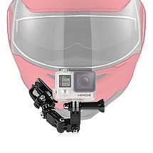 Бічне кріплення на шолом Side Mount для екшн камери GoPro SJCAM Xiaomi Yi, Sony, фото 3