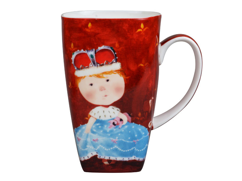Висока чашка Гапчинська Gapchinska Дама з поросям 600мл