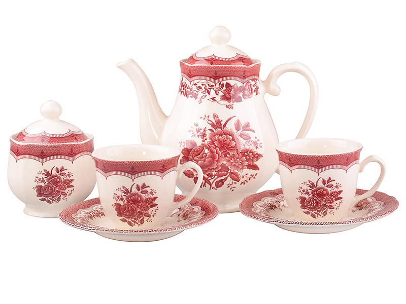 Чайний сервіз Victoria pink 14пр