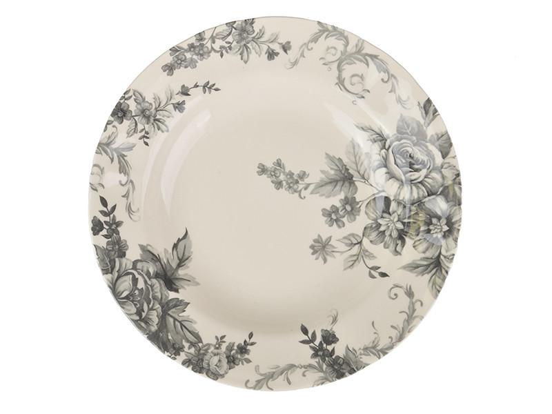 Суповая тарелка Retro flowers 240мм