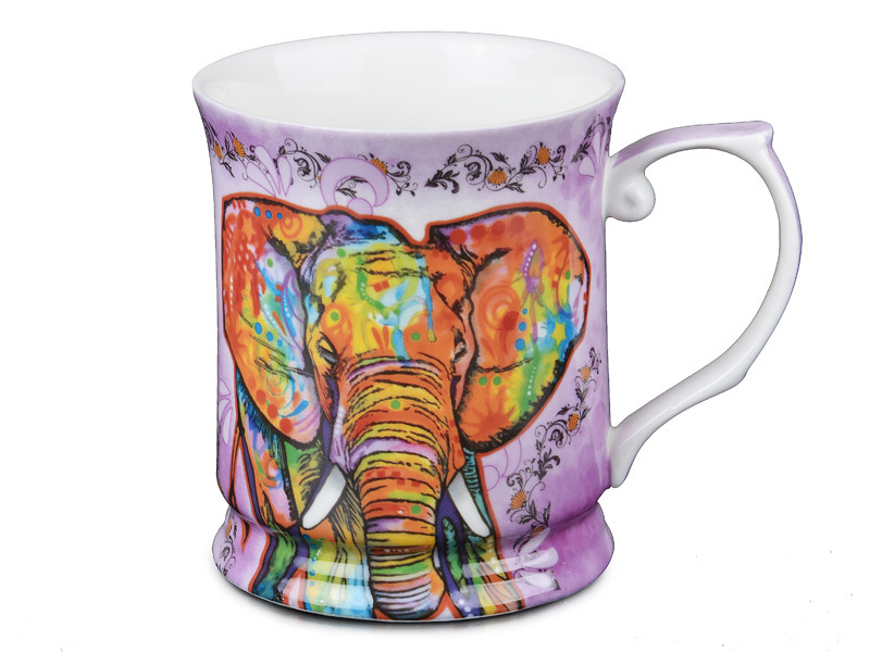 Чашка Красочный слон 400мл