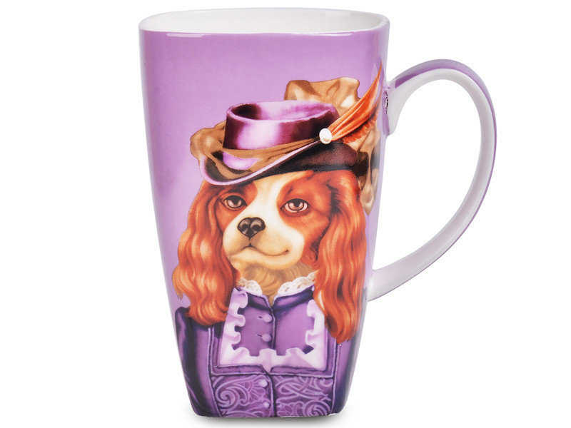 Чашка Собака міледі Lefard 600мл