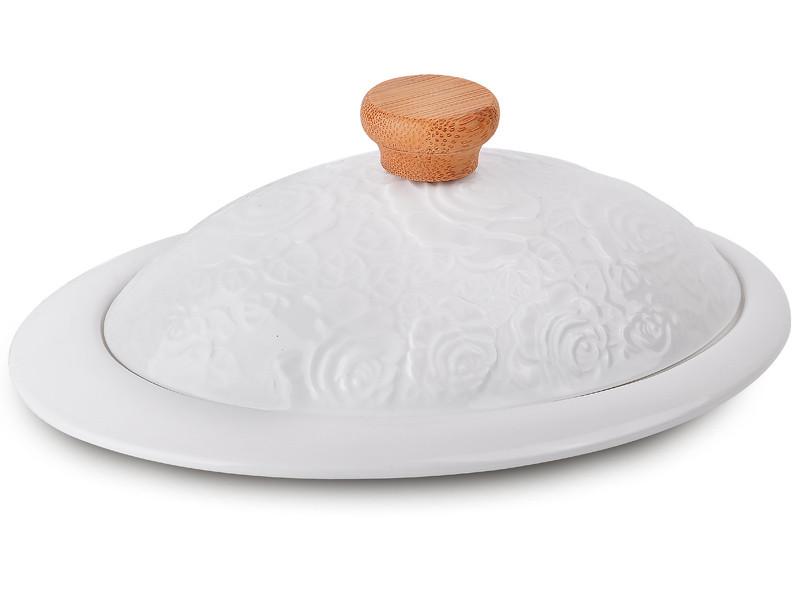 Блюдо з кришкою Лімож 20.5х14.5х8см