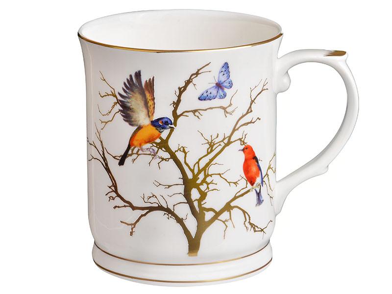 Чашка Lefard Птицы на ветке 400мл