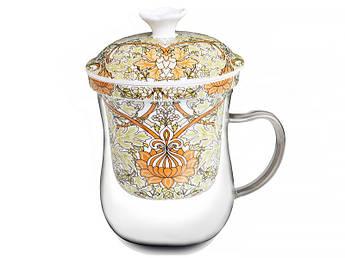 Заварочная чашка У. Моррис оливковая 400мл