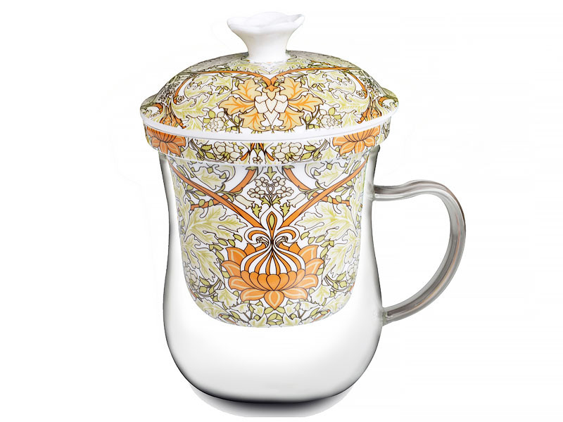 Заварочная чашка У. Морріс оливкова 400мл