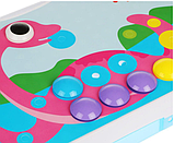 Конструктор мозаика пазл детский Puzzle Peg с шуруповертом в чемодане ( 224 детали ), фото 6