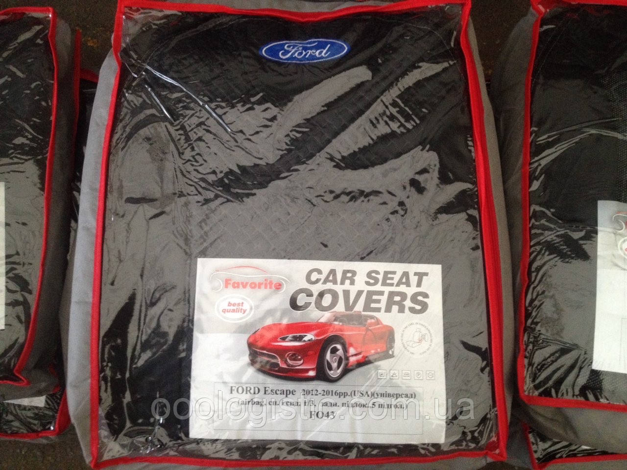 Авточехлы Favorite на Ford Escape 2012-2016 (USA)универсал