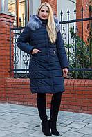 Зимняя женская удлиненная куртка Миранда Размеры 44- 58