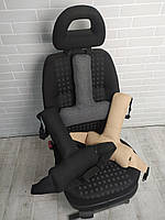 Ортопедический упор под спину EKKOSEAT для автомобильных кресел. Секторальный двух зонный