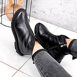 Ботинки женские Orest черные ЗИМА 2582, фото 2