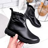 Ботинки женские Orest черные ЗИМА 2582, фото 5