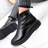 Ботинки женские Orest черные ЗИМА 2582, фото 7