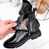 Ботинки женские Orest черные ЗИМА 2582, фото 6