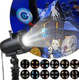 Лазерный проектор проекционный светильник уличный halloweeen № YU120, фото 2