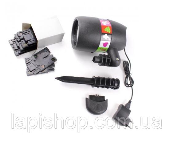 Новогодний лазерный проектор Star Shower Slide Show № 87С