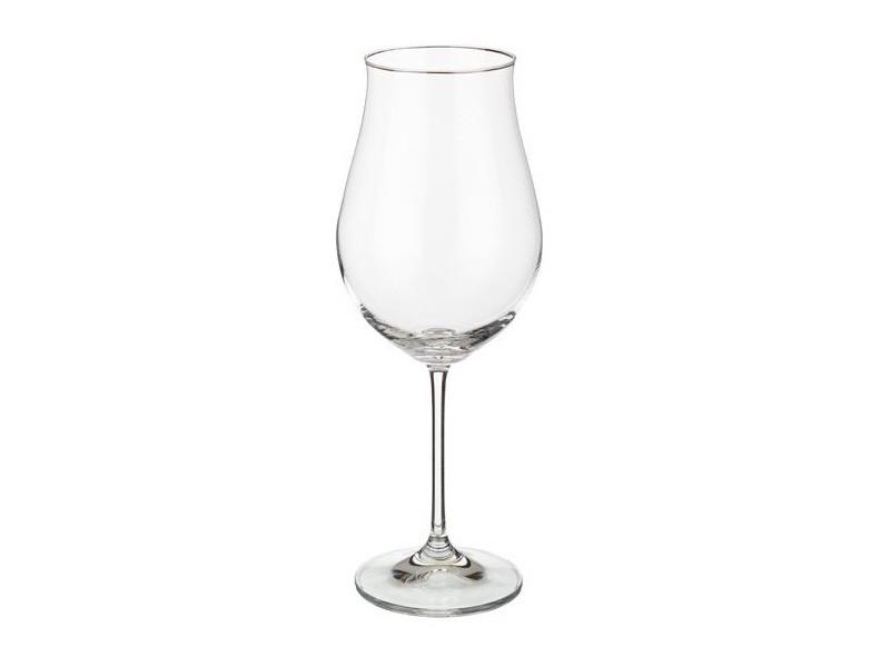 Келихи для вина у формі тюльпана Bohemia Attimo 420мл 6шт