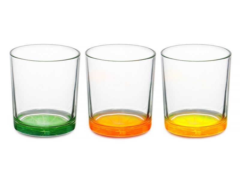 Високі склянки Cerve s.p.a. Італія Цитрус 220мл 3пр