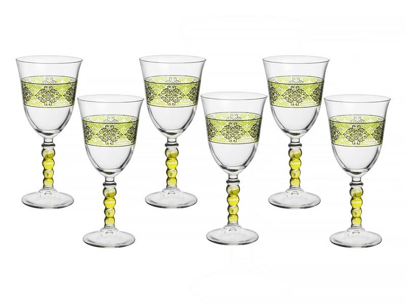 Бокалы для вина Cerve s.p.a. Италия Шарм верде 260мл 6пр