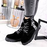 Ботинки женские Leslie замшевые ЗИМА 2576, фото 2