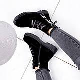 Ботинки женские Leslie замшевые ЗИМА 2576, фото 3