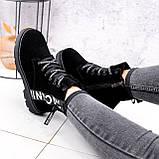 Ботинки женские Leslie замшевые ЗИМА 2576, фото 6