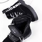 Ботинки женские Leslie замшевые ЗИМА 2576, фото 8