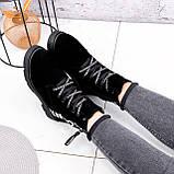 Ботинки женские Leslie замшевые ЗИМА 2576, фото 10