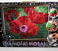 Алмазная живопись Diamond Mosaic Маки DM-02-04