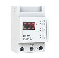 Реле контролю напруги ZUBR D63