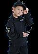 Бейсболка блайзер детская Полиция цвет темно-синий воронье крыло, фото 5