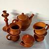 Набір керамічний чайник та горнята N° 3