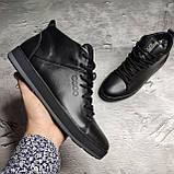 Мужские зимние ботинки Ecco OS166 черные, фото 5
