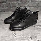 Мужские зимние ботинки Ecco OS166 черные, фото 4