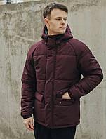 Зимняя куртка Staff basic2 bordo, фото 1