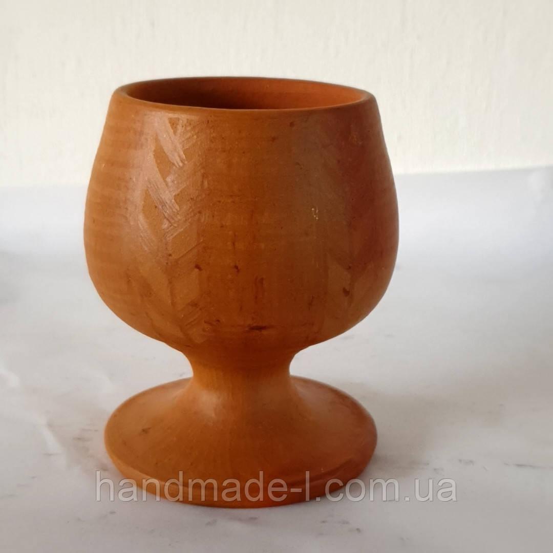 Фужер для коньяку глиняний 180 мл