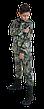 Костюм детский камуфляжный теплый Скаут StormWall PRO цвет Секвойя, фото 4