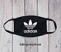 Защитная маска Adidas Big Logo унисекс, (мужская, женская, детская)