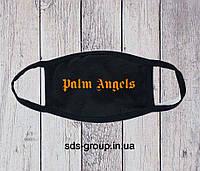 Защитная маска Palm Angels Big Orange Logo унисекс, (мужская, женская, детская)