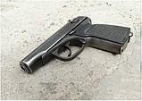 ОРТОПЕДИЧЕСКАЯ пластиковая чёрная рукоятка для пистолета Макарова ПМ, фото 4