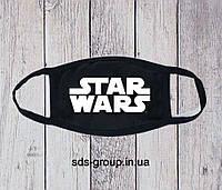 Защитная маска Star Wars Logo унисекс, (мужская, женская, детская)