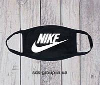Защитная маска Nike Big Logo унисекс, (мужская, женская, детская)