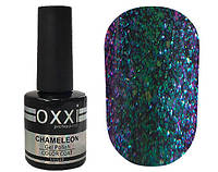 Гель-лак Chameleon Lux OXXI 002 фиолетово-зеленый, хамелеон, 10мл