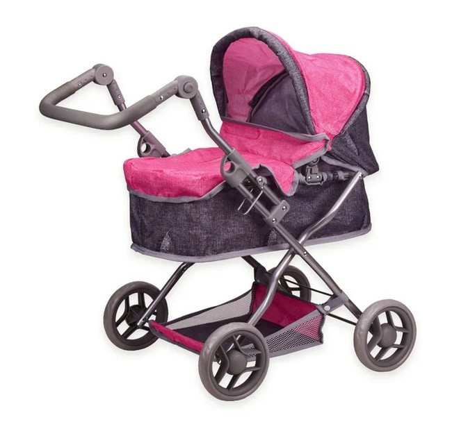 Коляска 9680 Pink для куклы
